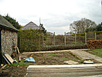 The potager before construction