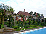 Arbour from the pool